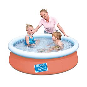 Бассейн надувной детский Splash and Play BestWay 57241 (152х38 см)