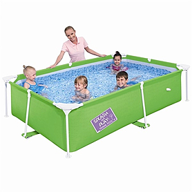 Бассейн каркасный BestWay Splash and Play 56220 (239х150х38 см)