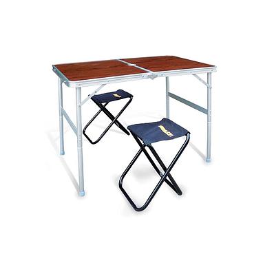 Cтол раскладной + 2 стула Grilly CT-42