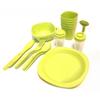 Набор посуды для пикника на 4 персоны + складной столик - фото 3