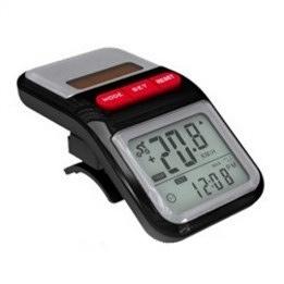 Фото 1 к товару Велоспидометр + часы на солнечной батарее