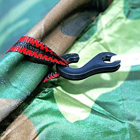 Фото 2 к товару Палатка трехместная Mountain Outdoor (ZLT) 200х200х135 см хаки