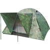 Палатка трехместная Mountain Outdoor (ZLT) 200х200х135 см двухслойная камуфляж - фото 1