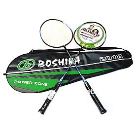 Набор для бадминтона (2 ракетки, чехол) Boshika 2018