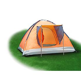 Палатка трехместная Mountain Outdoor Skyroc (ZLT) 213х197х133 см оранжевый