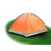 Палатка трехместная Mountain Outdoor Skyroc (ZLT) 213х197х133 см оранжевый - фото 2