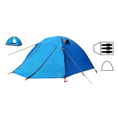 Палатка трехместная Mountain Outdoor (ZLT) SY-A15 330х180х135 см