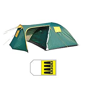 Палатка четырехместная с тентом FRT-206-4 440х240х170 см