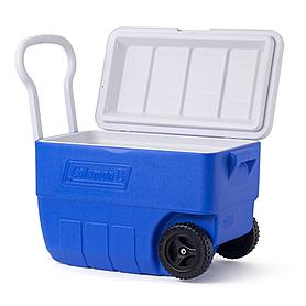 Термобокс Cooler 50QT WHLD Blue Low Pro