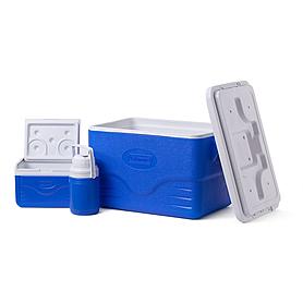 Фото 2 к товару Комплект термобоксов COOLER 36QT 00 BLUE GLBL