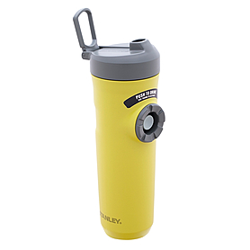 Термокружка-поилка Stanley 600 мл желтая