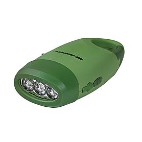 Фото 2 к товару Динамо-фонарь 3 LED Кемпинг SB-3075