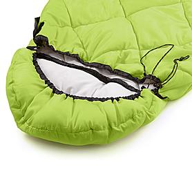 Фото 5 к товару Мешок спальный (спальник) Кемпинг Peak с капюшоном салатовый