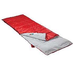 Фото 2 к товару Мешок спальный (спальник) Кемпинг Rest с подушкой красный