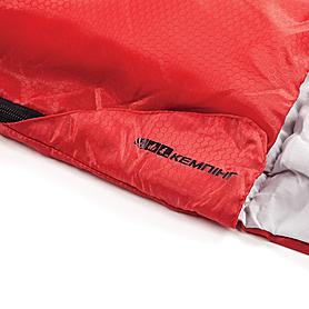 Фото 7 к товару Мешок спальный (спальник) Кемпинг Rest с подушкой красный