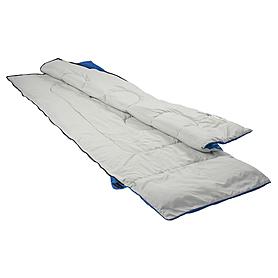 Фото 3 к товару Мешок спальный (спальник) Кемпинг Rest с подушкой синий