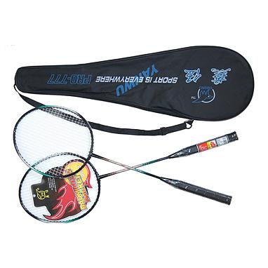 Набор для бадминтона (2 ракетки, чехол) PRO-777