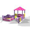 Песочный дворик Kinderland Барби 1.02 - фото 1