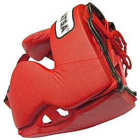 Фото 2 к товару Шлем боксерский закрытый MATSA красный