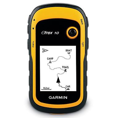 Портативный GPS навигатор Garmin eTrex 10