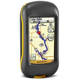 Фото 2 к товару Портативный GPS навигатор Garmin Dakota 10 с картой НавЛюкс