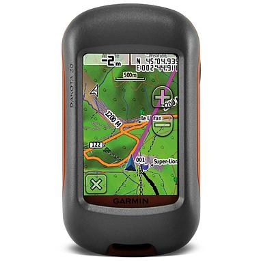 Портативный GPS навигатор Garmin Dakota 20 с картой