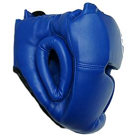 Фото 2 к товару Шлем тренировочный Matsa PVC синий