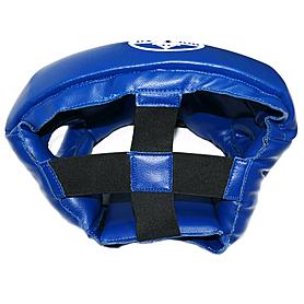 Фото 3 к товару Шлем тренировочный Matsa PVC синий
