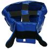 Шлем тренировочный Matsa PVC синий - фото 4