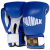 Перчатки боксерские кожаные Mad Max MBG 902 (синие) - фото 1