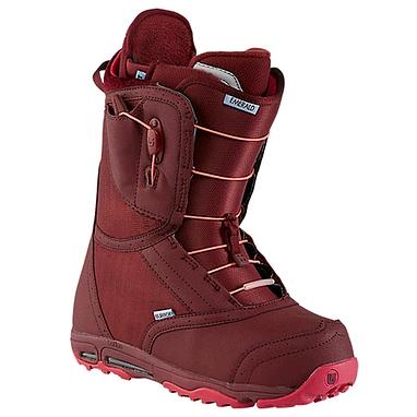 Ботинки для фристайла женские Burton Emerald 2014 цвет бордовый