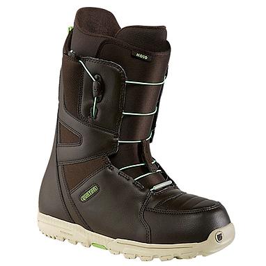 Ботинки для сноубординга мужские универсальные Burton Moto 2014 цвет коричневый/зеленый