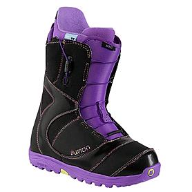 Ботинки для фристайла женские Burton Mint 2014 цвет черный/фиолетовый
