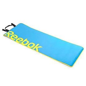Коврик для фитнеса Reebok голубой 6 мм
