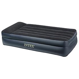 Фото 1 к товару Кровать надувная односпальная Intex 66721 (191х99х47 см)