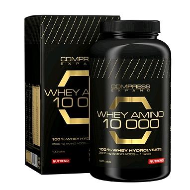 Аминокомплекс Nutrend Compress Whey Amino 10 000 (100 таблеток)