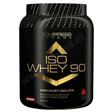 Протеин Nutrend Compress Iso Whey 90 (1 кг)