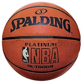 Фото 1 к товару Мяч баскетбольный Spalding NBA Platinum Outdoor