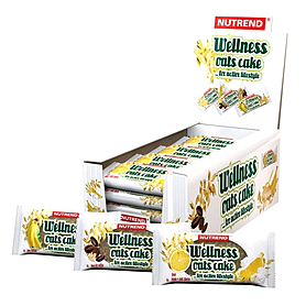 Фото 2 к товару Батончик восстанавливающий Nutrend Wellness Oats Cake (70 г)