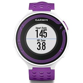 Фото 2 к товару Спортивные часы Garmin Forerunner 220 белые с фиолетовым