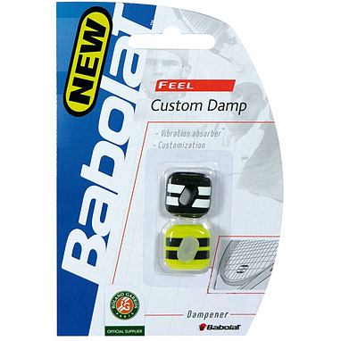 Виброгаситель Babolat Custom Dump Black/Yellow