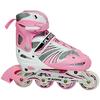 Коньки роликовые раздвижные Kepai WL-03 розовые - фото 1