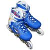 Коньки роликовые раздвижные ZEL Z-096 синие - фото 2