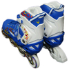 Коньки роликовые раздвижные ZEL Z-096 синие - фото 3