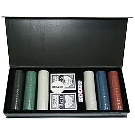 Набор для игры в покер Pro Chips 300 фишек