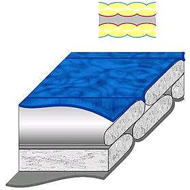 Фото 4 к товару Мешок спальный (спальник) Terra Incognita Pharaon Evo 400 правый синий