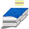 Мешок спальный (спальник) Terra Incognita Pharaon Evo 400 правый синий - фото 4