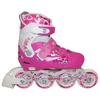Коньки роликовые раздвижные ZEL Z-096 розовые - фото 1