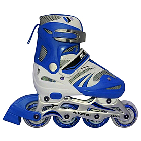 Коньки роликовые раздвижные Kepai WL-03 синие