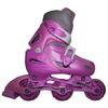 Коньки роликовые раздвижные Kepai STAR-9 розовые - фото 1